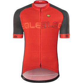 Alé Cycling Solid Block Short Sleeve Jersey Men red-black